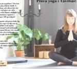 Prova yoga i Tävelsås